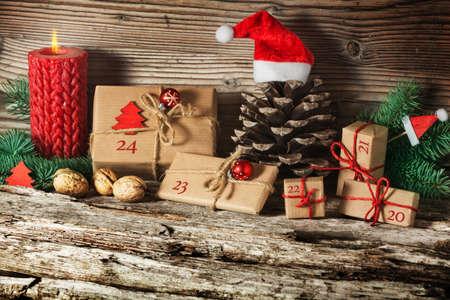 Weihnachts-Kalender- Lizenzfreie Bilder