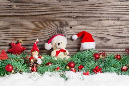 imp: Christmas decoration, Christmas Teddy Bear, Imp Stock Photo
