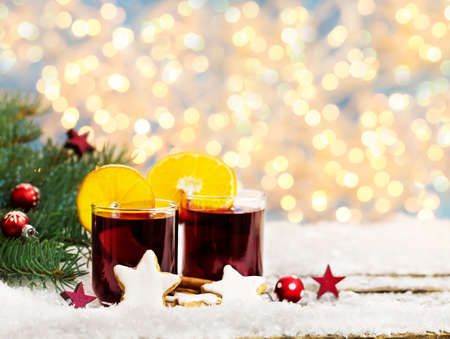 Mulled wine on the Christmas market