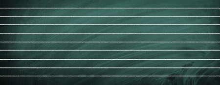 School blackboard with lines Imagens