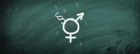 Symbols for female & male
