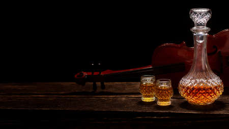 Enjoy a whiskey during the concert break