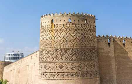One of the towers of Karim Khan Castle in Shiraz city in Iran Banque d'images