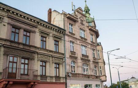 Tenement house in Pilsen, Czech Republic
