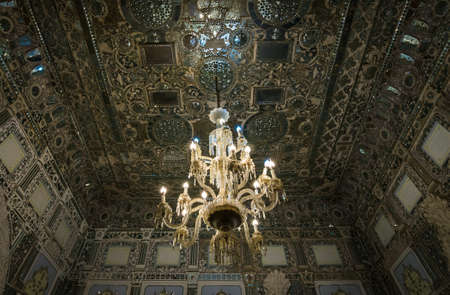 Mirror Hall, part of Golestan Palace in Tehran, capital of Iran