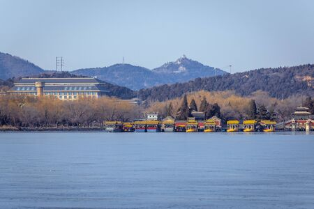 Kunming Lake in Summer Palace in Beijing, capital city of China