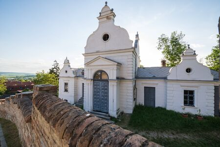 Chapel at Jewish Cemetry in Mikulov town in Czech Republic