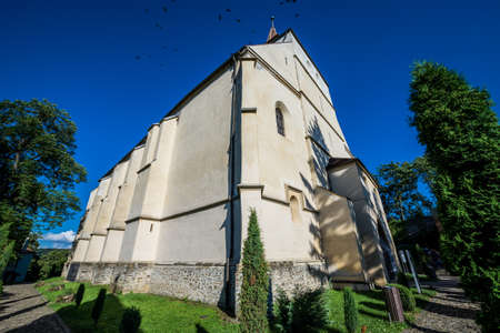 The Church on the Hill in Sighisoara town in Romania Stock fotó