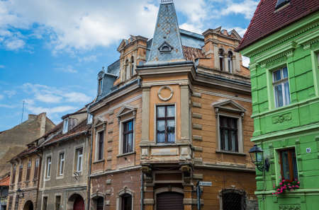 Tenement house in Brasov city in Romania