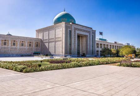 Tehran, Iran - October 16, 2016: Courtyard in front of Mausoleum of Ruhollah Khomeini in Tehran Editorial