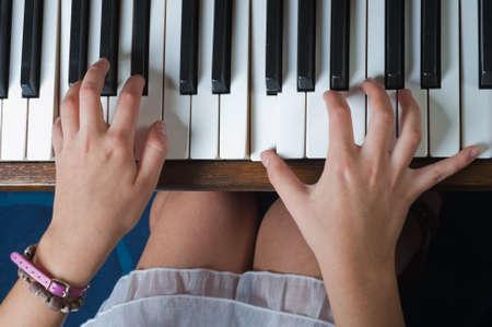 Piano Hand photo