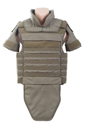 bulletproof vest:  Bulletproof vest