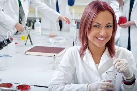 guanti infermiera: ritratto di uno studente di medicina