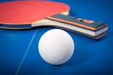 tischtennis: Die Ausr�stung f�r Tischtennis - Schl�ger, Ball, Tisch