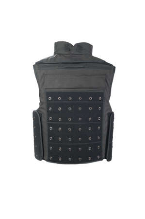 kevlar: Bulletproof vest from behind