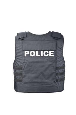 kevlar: Bulletproof vest from behind