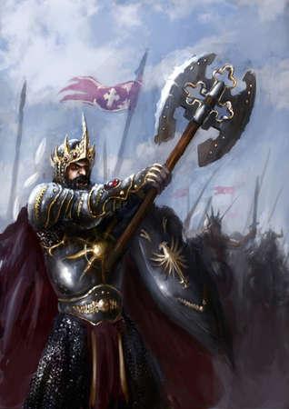 왕: 왕과 전장에서 자신의 군대