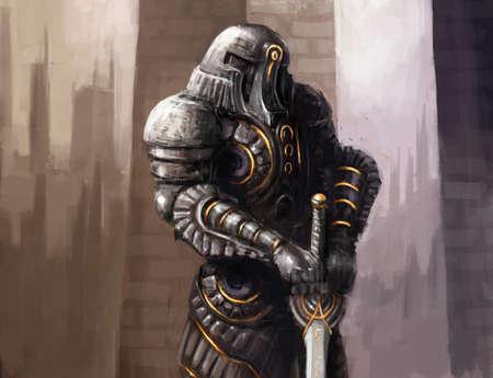 cybernetics: bionic cybernetics alien worior concept