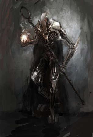 bionic: bionic cybernetics alien worior concept