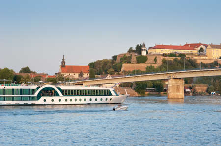 Petrovaradin Fortress in Novi Sad, Serbia photo