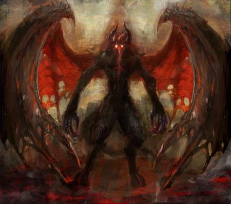 infierno: aumento de la sombra del infierno