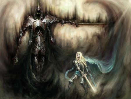 evi knight versus good knight
