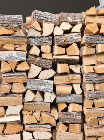 woodpile: Firewood texture, after the sawing wood