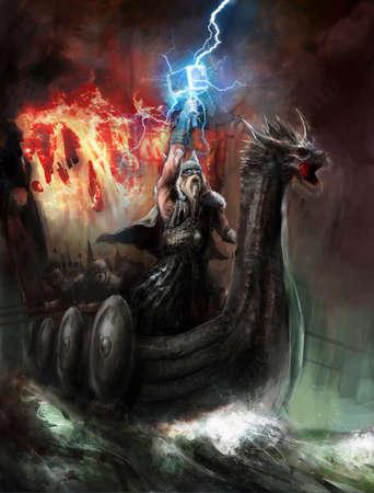 vikingo: ira del dios del rayo