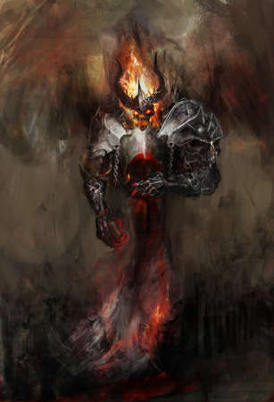 underworld: apocalyptic flaming doom bringer of hell
