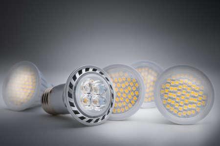 省エネ LED 電球 写真素材