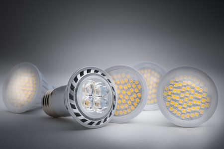 led lighting: Energy saving LED light bulb