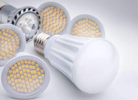 the light emitting: Energy saving LED light bulb