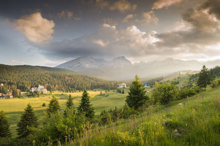 wonderful: Mountains in the national park Durmitor in Montenegro Stock Photo