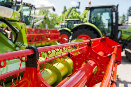 agronomics: New harvester at Agricultural Fair
