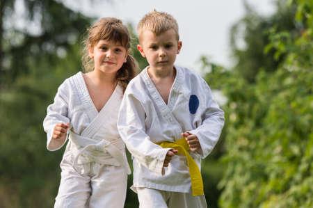 Karate kids martial Arts