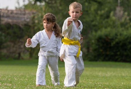 Karate kids martial Arts