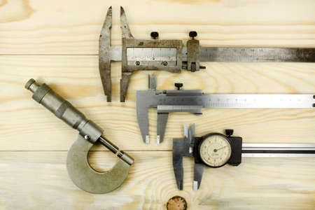 micrometer: Measuring tool caliper and micrometer