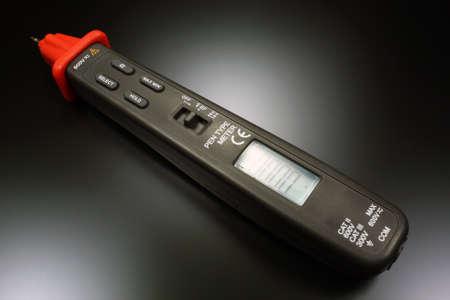 impedance: Pen type digital multimeter Stock Photo