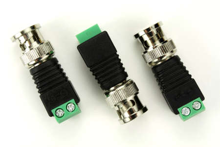 connector: BNC connector on a white background