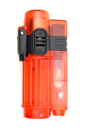 lighter: Red lighter Stock Photo