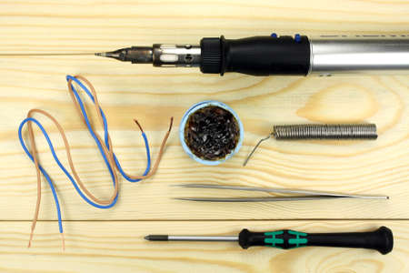 soldering: Gas soldering iron