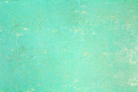 Turquoise paper texture with scratches, stains and abrasions. Abstract background