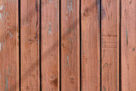 painted wood: Brown painted and weathered shabby wooden planks. Natural wood texture