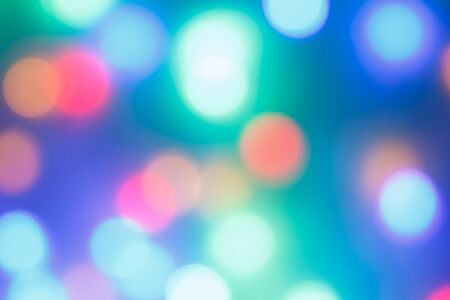bright lights: blue defocused lights background. abstract bokeh lights