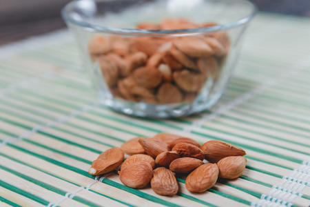 apricot kernel: Dried Apricot Pits Kernel. Healthy Food Concept