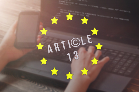 Article 13 the amendment to the EU legislation banned media materials on the Internet.