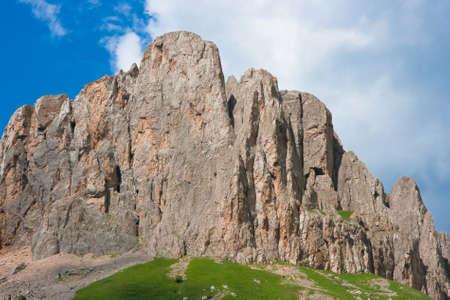 beautiful mountain in the caucasus