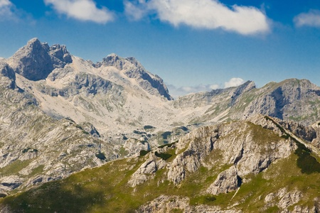 Mountain scenery, National park Durmitor, Montenegro Stock Photo