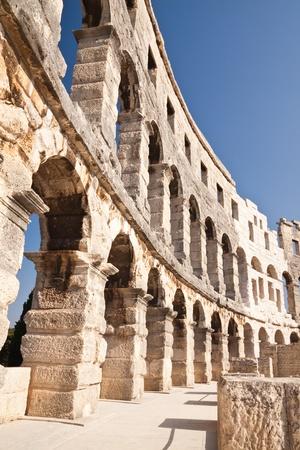 古羅馬鬥獸場在普拉伊斯特拉
