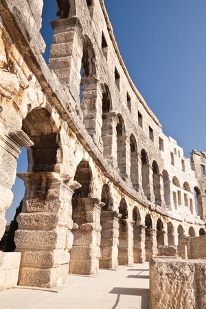 Ancient Roman Amphitheater in Istria  Pula